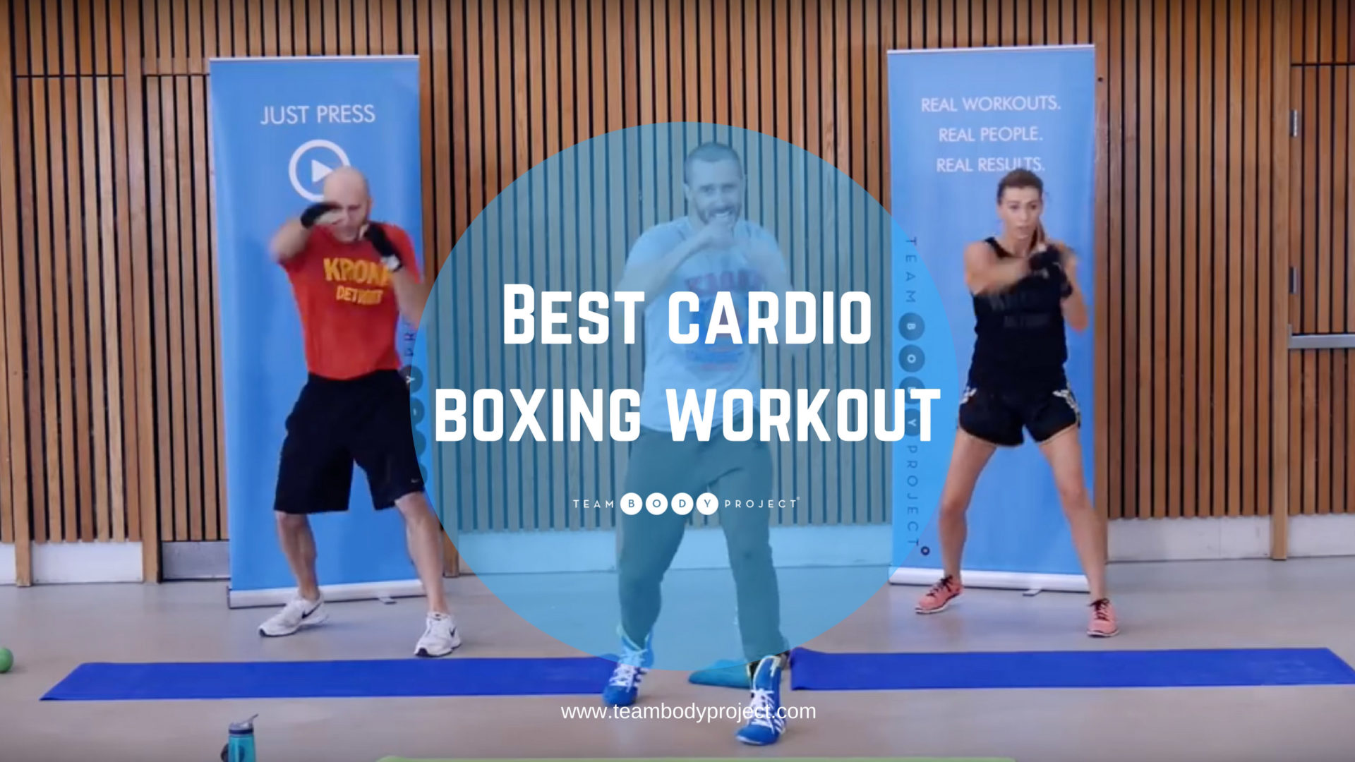 Best cardio boxing workout