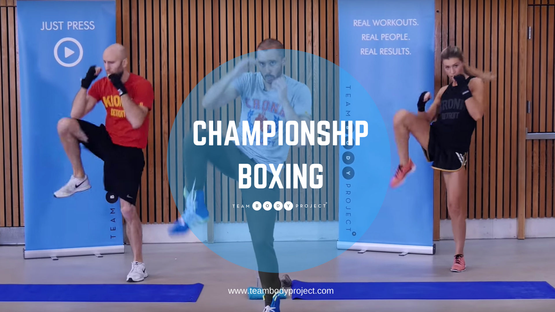 Fight to Fitness page | Team Body Project