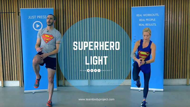 Superhero light