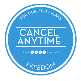 cancel anytime queaterly blue
